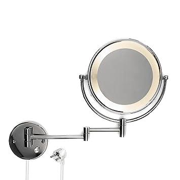 Hervorragend Kosmetikspiegel Schminkspiegel LED beleuchteter Wandspiegel mit  NO68