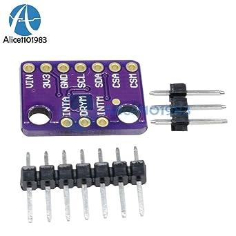 AST Works LSM303C LIS3MDL 3-Axis 6DOF Magnetometer Accelerometer