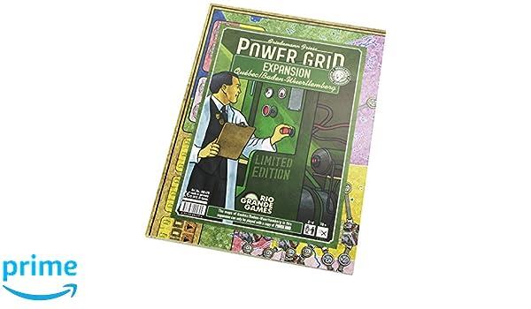 Río Grande - Power Grid Juego de mesa, Quebec-Baden Wurtenburg, Expansión de Red Eléctrica: Amazon.es: Juguetes y juegos