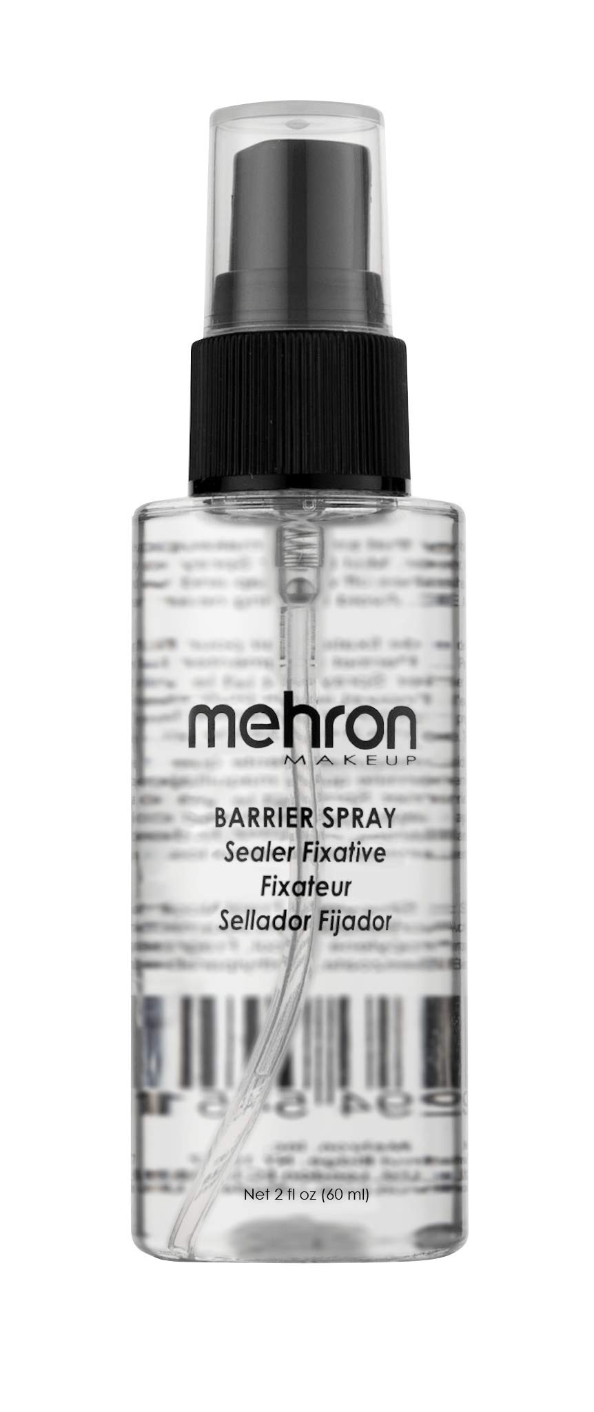 Mehron Makeup Barrier Spray (2 oz)