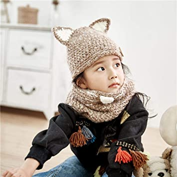 b0ab1f00 Image Unavailable. Image not available for. Color: Myzixuan Children's Cap  Scarf Baby Jacket Fall Winter ...