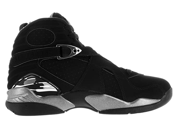the best attitude 6b3be bb355 Amazon.com   Nike Jordan Mens Air Jordan 8 Retro Black White Lt Graphite  Basketball Shoe 11 Men US   Basketball