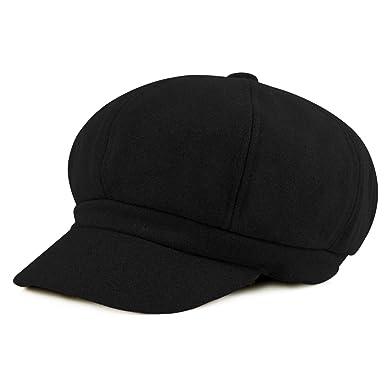 6668ac920f6 HowYouth Womens Ladies 8 Panel Wool Cabbie Painter Baker Cap Newsboy Beret  Hat 56-58CM