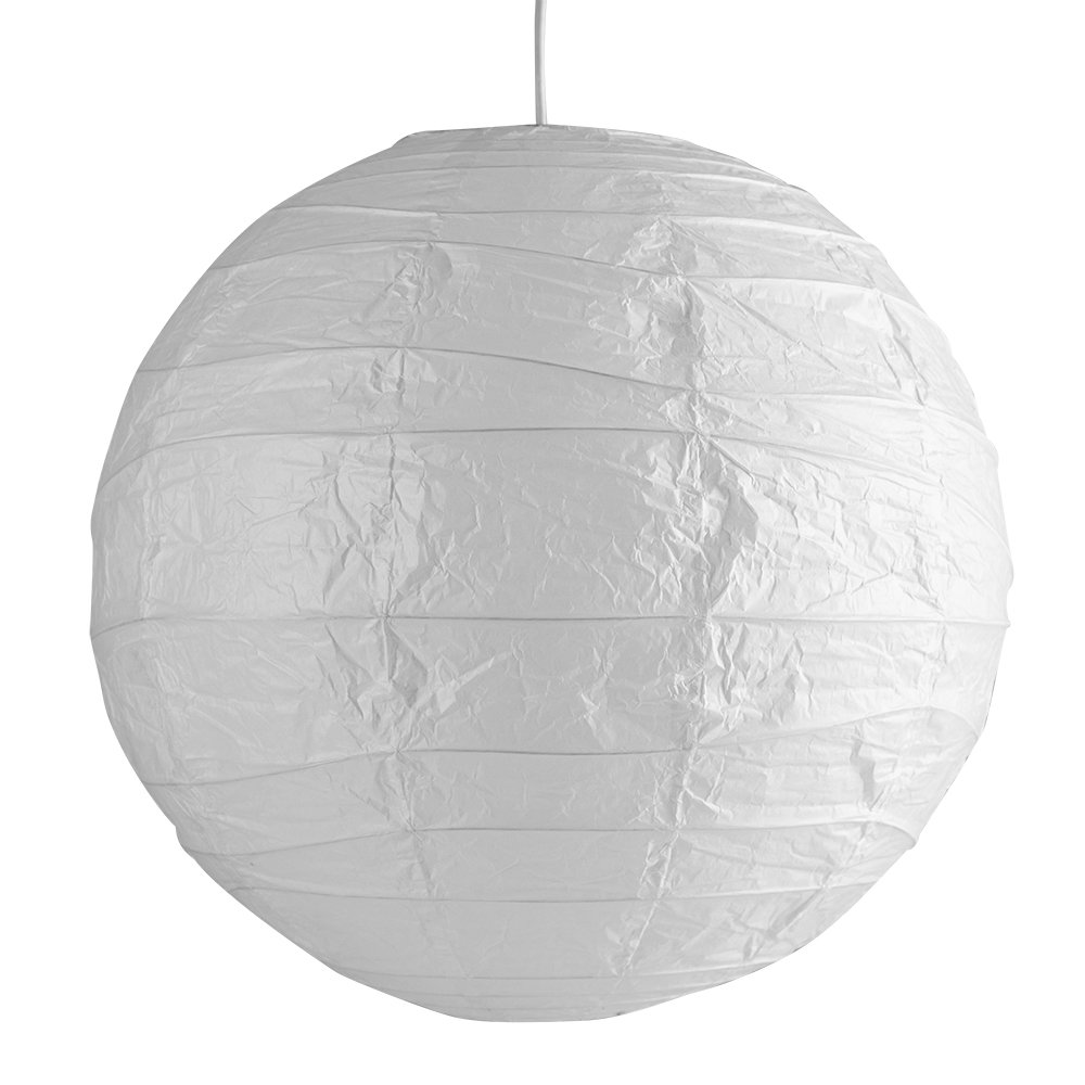 Pair of ambient modern large 50cm white round sphere globe pair of ambient modern large 50cm white round sphere globe shaped chinese paper lantern ceiling pendant lamp shades amazon lighting mozeypictures Images