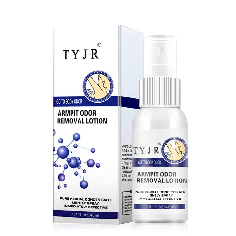 Remove Underarm Armpit Refresh Body Feet Odor Dew Deodorant Antiperspirant 40ML