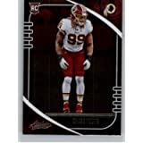 2020 Panini Absolute Football #117 Chase Young Washington Football Club RC Rookie Card Official NFL Trading Card From…