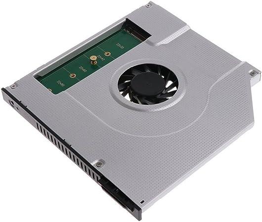SODIAL Nuevo portatil Ventilador de la CPU Radiador 2nd M2 M.2 ...