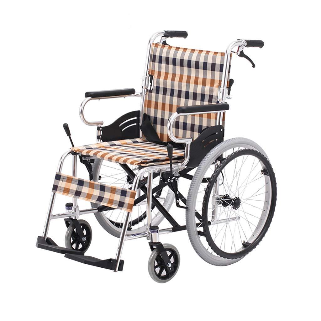 silla de ruedas de aleación de Aluminio Liviana, Doble ...