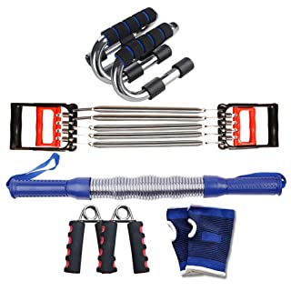 Zhiniu Set di Attrezzature Sportive, Cintura Portatile Leggera per Uso Addominale QIN-FEIFEI