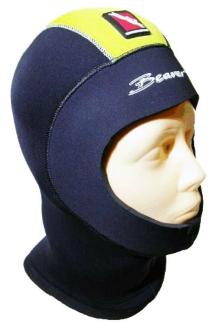 Buccaneer 7mm Semi-Dry Superflex Hood Diving Hoods
