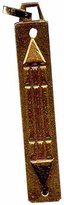 Barre atlante en Vieil Argent pendentif