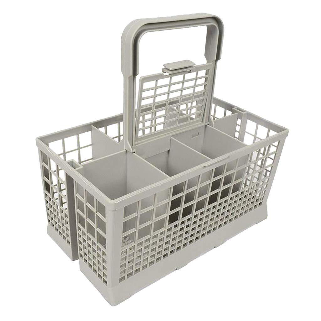 Fityle Dishwasher Basket Plate Cutlery Holder Dispenser Universal 8 COMPARTMENTS