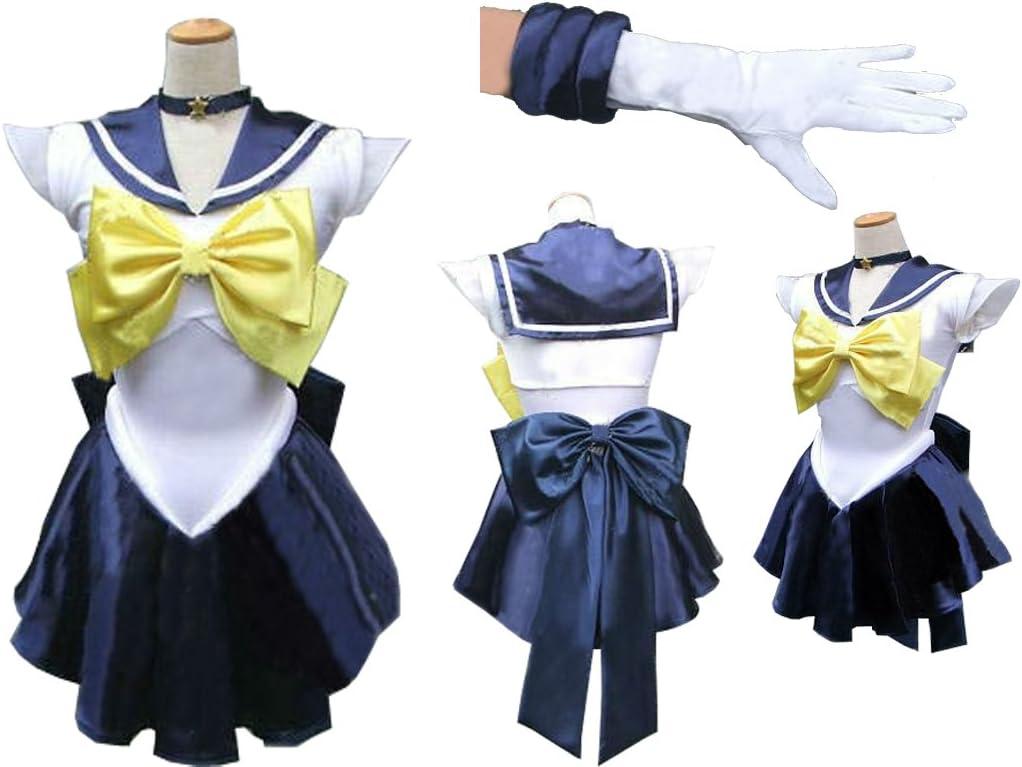 Sailor Moon Sailormoon Cosplay disfraz Amara Uranus with guante ...