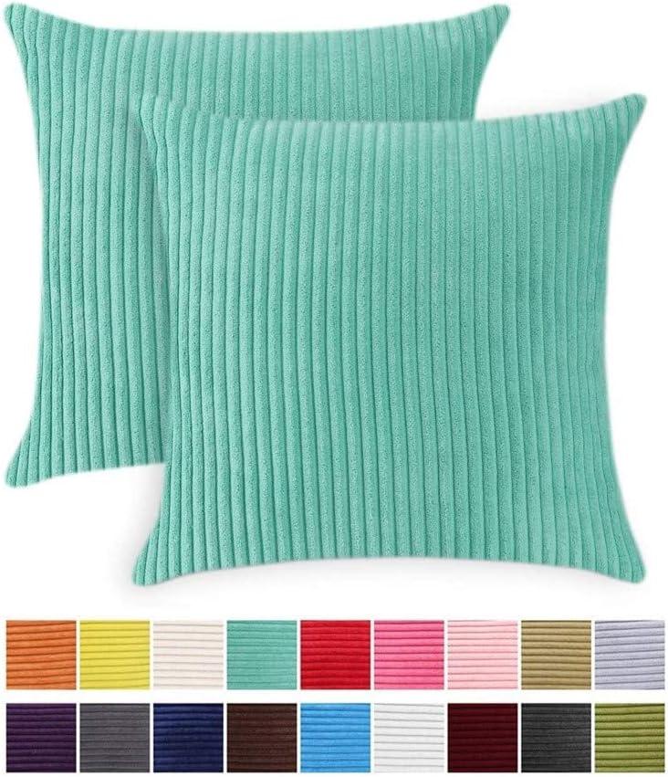 Cuscino decorativo a righe camera da letto JOTOM tinta unita ufficio bianco auto per divano 45 x 45 cm 1 pezzo