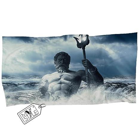 My Custom Style® Toalla de Playa de Microfibra Arte-Neptuno ...