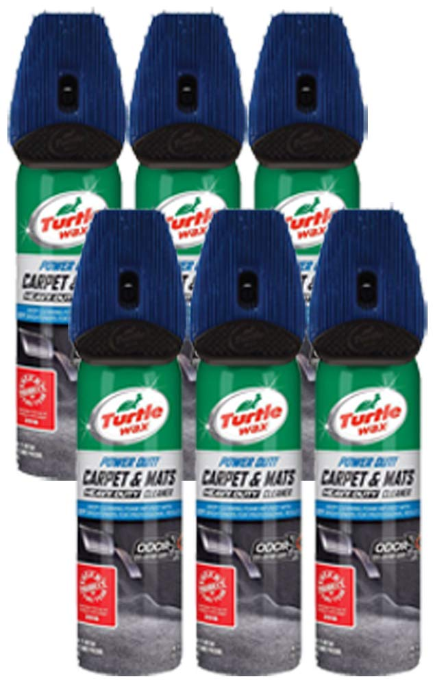 Turtle Wax Power Out! Carpet and Mats Cleaner 18 oz (6 Pack)