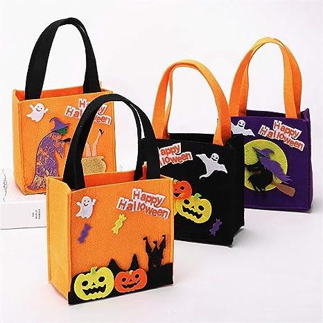 WYXBJ Nuevas Decoraciones de Halloween Bolsas cuadradas ...
