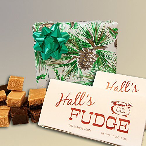 Evergreen - Assorted Fudge Gift Box - Hall's Candies