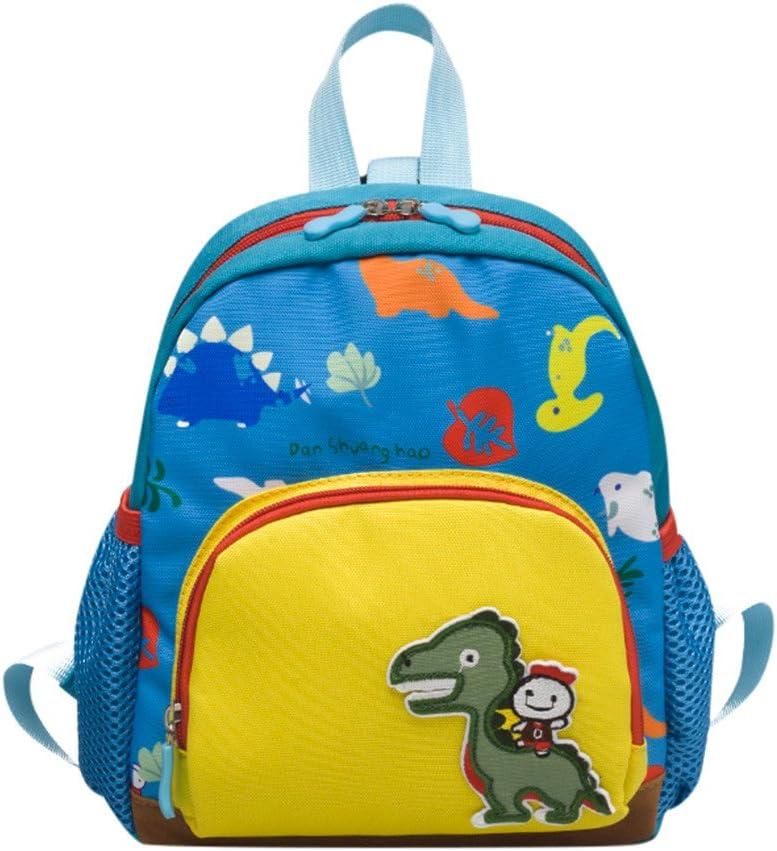 GiveKoiu-Bags Mochilas para niñas Cool Mochilas para la Escuela Venta Barata Bebé Niños Niñas Niños Bolso Dinosaurio Patrón Cartoon Mochila Mochila de la Escuela de niños