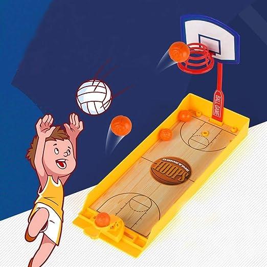 LWL House Durable Juego de Tiro de Baloncesto Reducir el estrés Juguetes Deportes Juego de Mesa Juego de Juguete for niños Diversión: Amazon.es