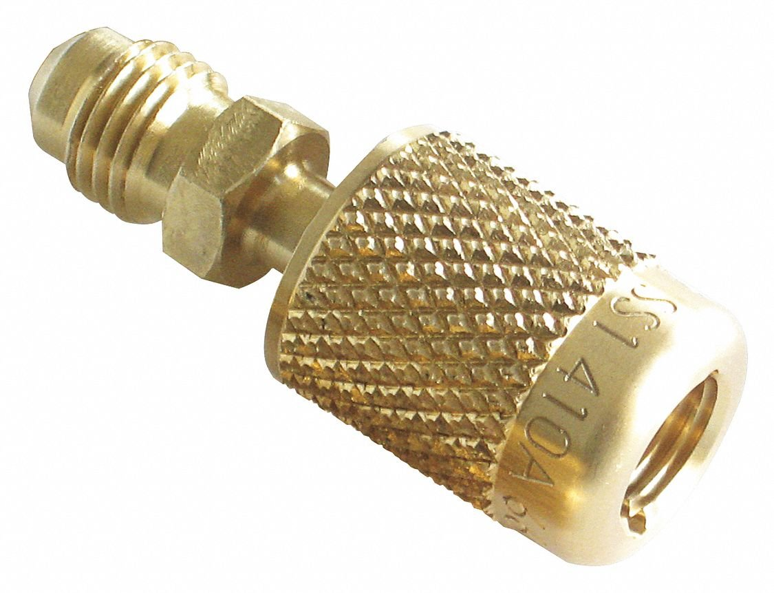 Quick Coupler, 1/4 In M x 5/16 In F, 0 Deg by JB Industries