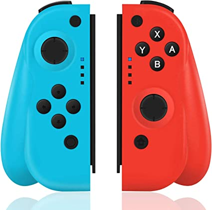 TUTUO Mando para Nintendo Switch, Wireless Controller Gamepad ...
