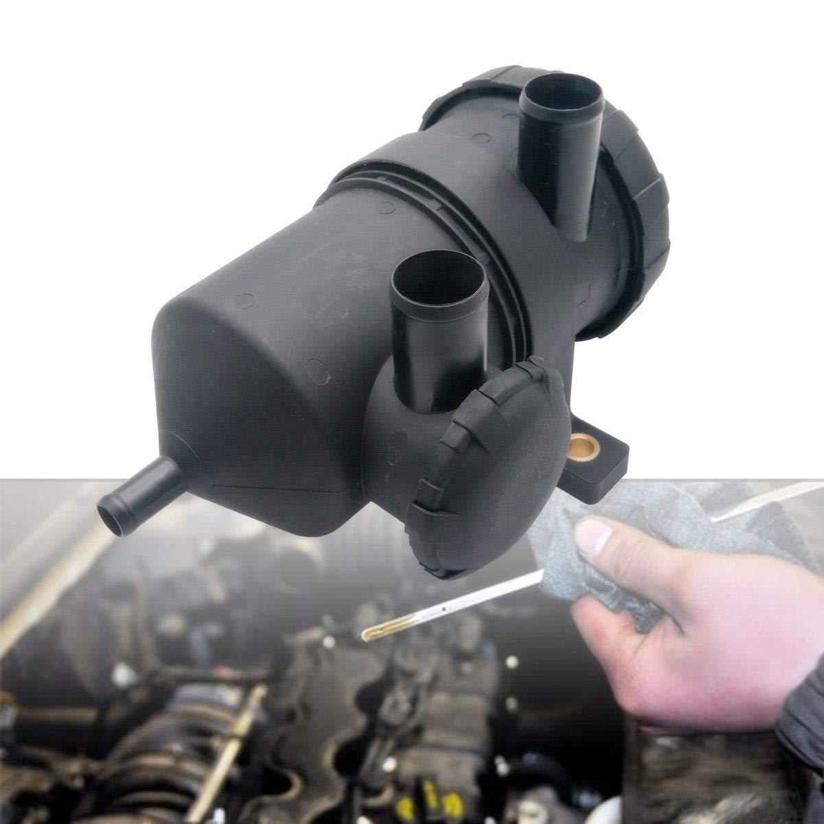 Maso /Öl Catch k/önnen Tank Edelstahl Filter mit Druckentlastung Ventil Ersatz f/ür Turbo 4/WD