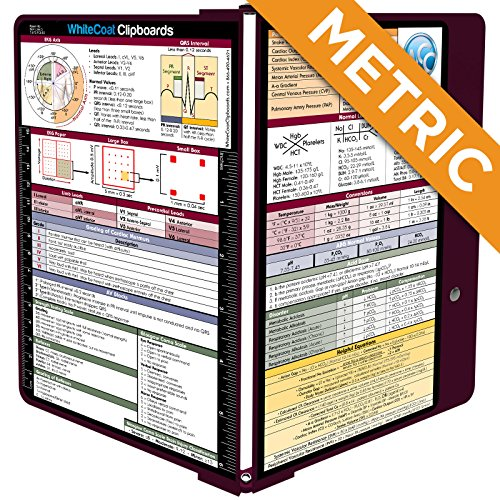 WhiteCoat Clipboard - WINE - Metric Medical Edition by WhiteCoat Clipboard