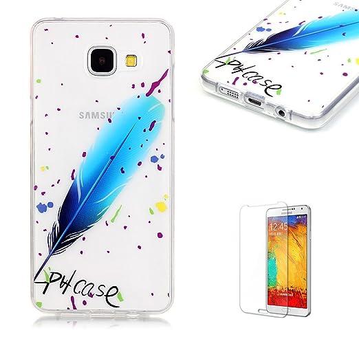 14 opinioni per Cover Per Samsung Galaxy A3 2016 Silicone Custodia Morbida Trasparente con