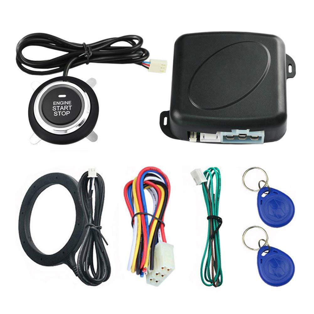 Car Engine Push Start Button//RFID Burglar Alarm Lock Keyless Entry Immobilizer