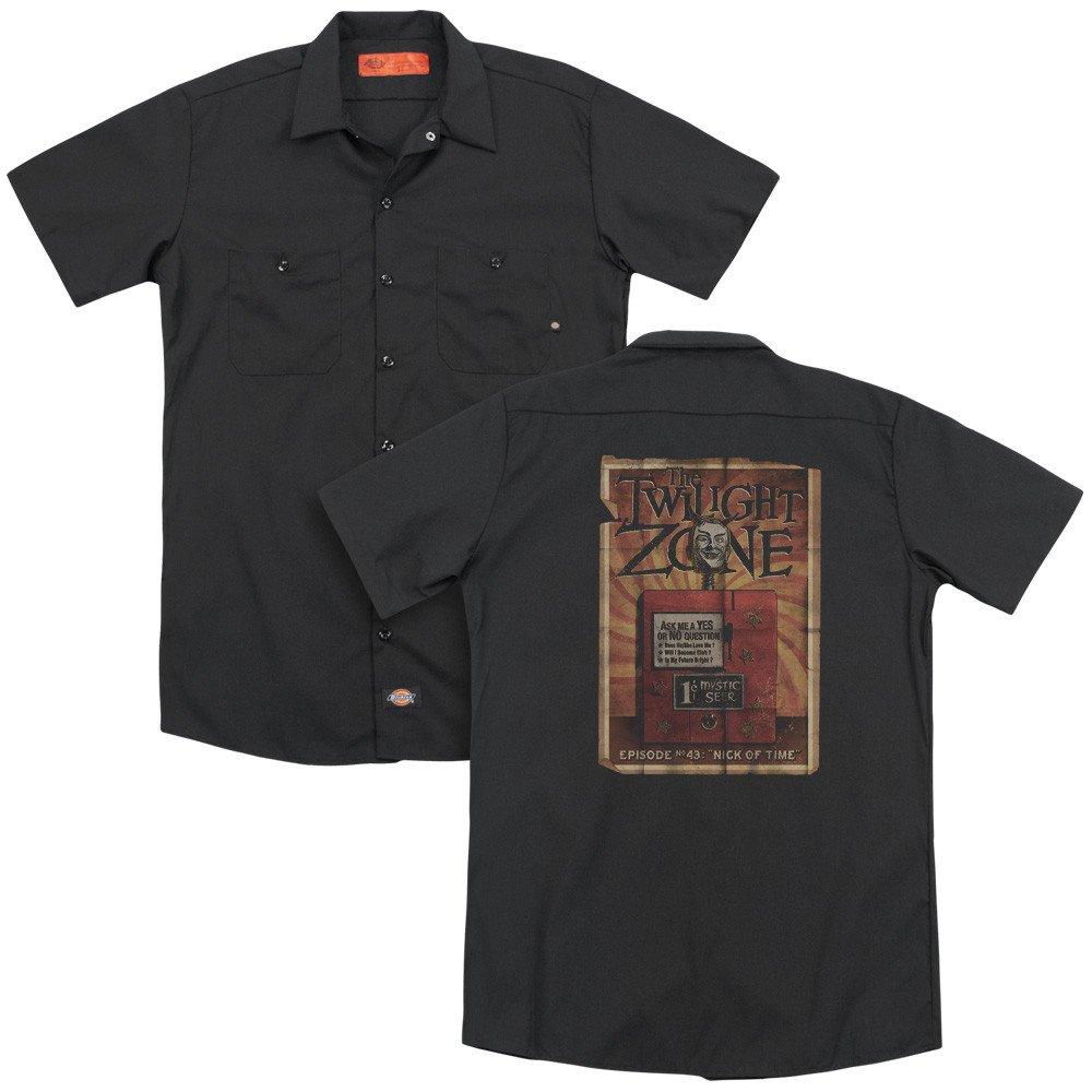 Seer Adult Work Shirt Twilight Zone