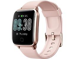 Willful Smart Watch for Men Women IP68 Waterproof, Fitness Tracker Heart Rate Monitor Sport Digital Watch, Smartwatch for And