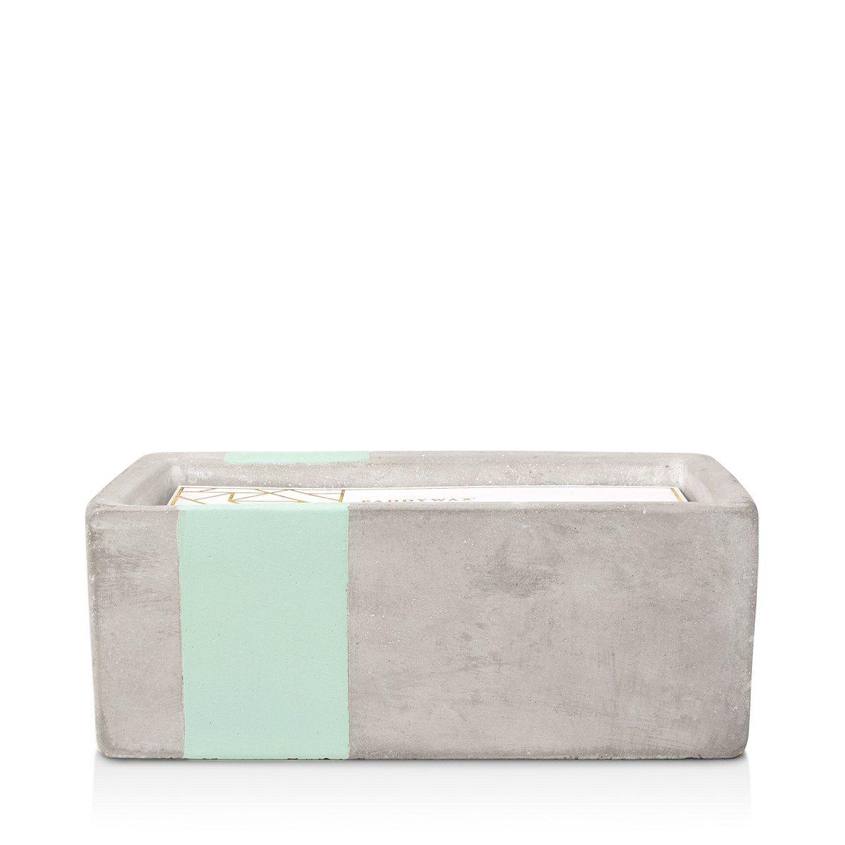 Paddywax Urban Concrete Rectangle Mint Sea Salt & Sage Candle