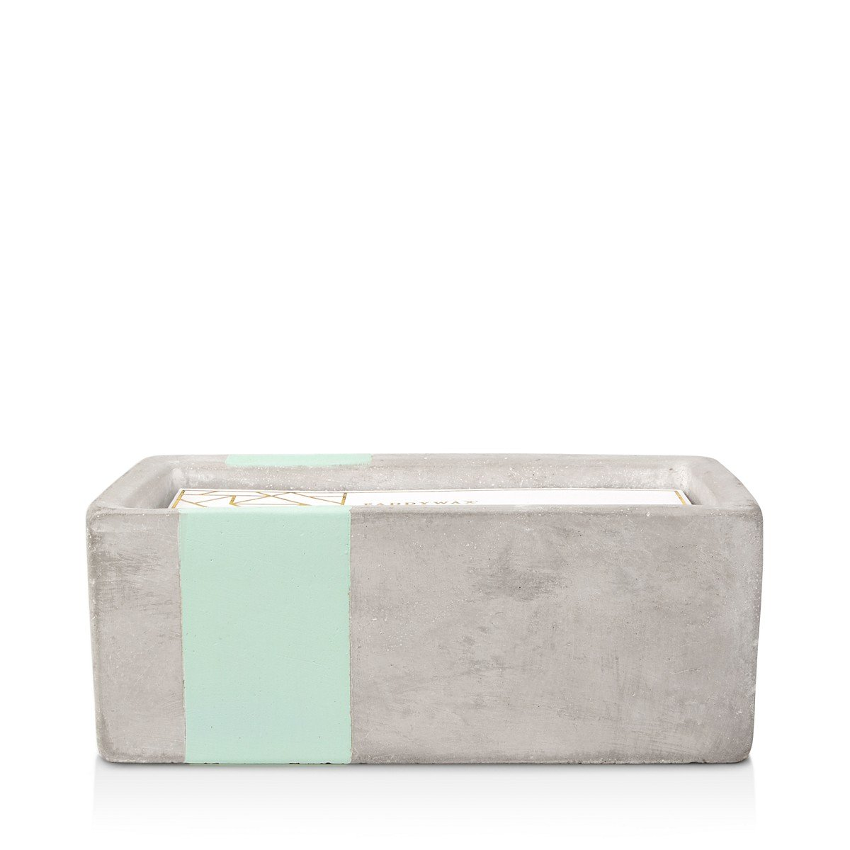 Paddywax Urban Concrete Rectangle Mint Sea Salt & Sage Candle