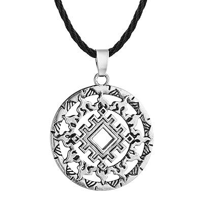 chengxun Lada Star Symbol Pendant Pagan Slavic Amulet Symbol Warrior