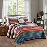 Best Comforbed Comforter Sets - Comforbed Stripped 100% Cotton Patchwork Bedspreads Quilt Set Review
