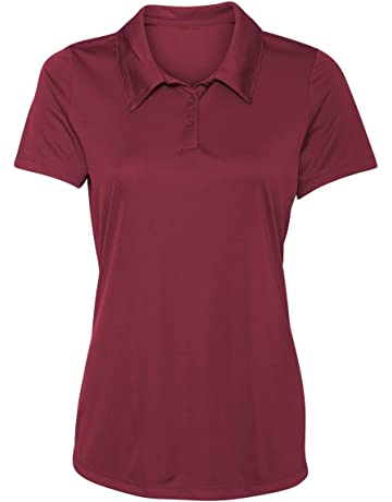 9116f01f13f71 Animal Den Women s Dry-Fit Golf Polo Shirts 3-Button Golf Polo s in 20