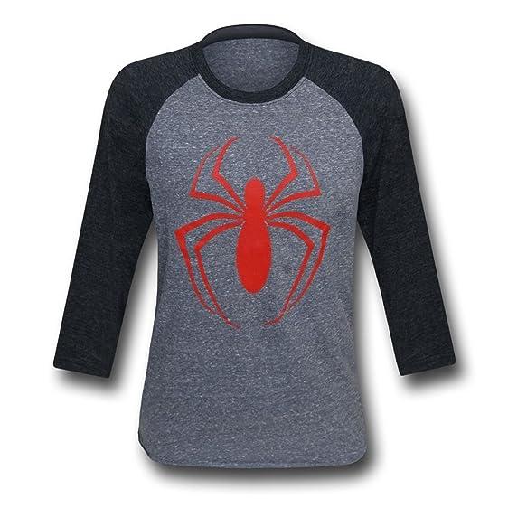 Amazon Ultimate Spiderman Symbol Mens Baseball T Shirt Clothing