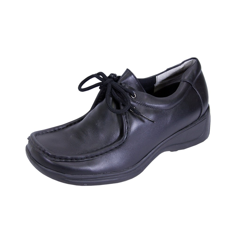 24 Hour Comfort  Kris (2901) Women Extra Wide Width Leather Shoes Black 11