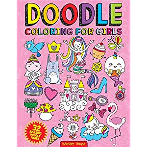 Doodle Coloring For Girls (Doodle...