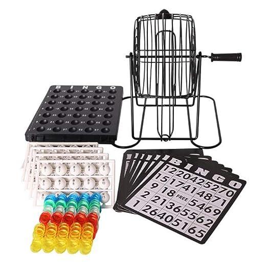 Juego de máquina de lotería de bingo Juego de manivela hecho de ...