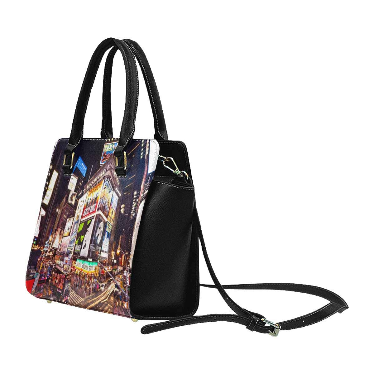 InterestPrint Womens New York City Theme Rivet Shoulder Handbag Shoulder Bags