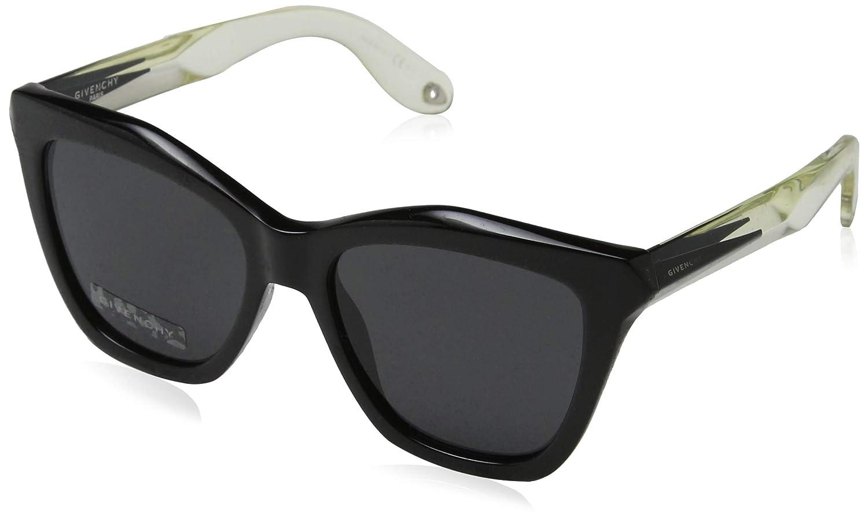 Givenchy 7008/S AM3 Black/Blue/White 7008/S Square Sunglasses Lens Category