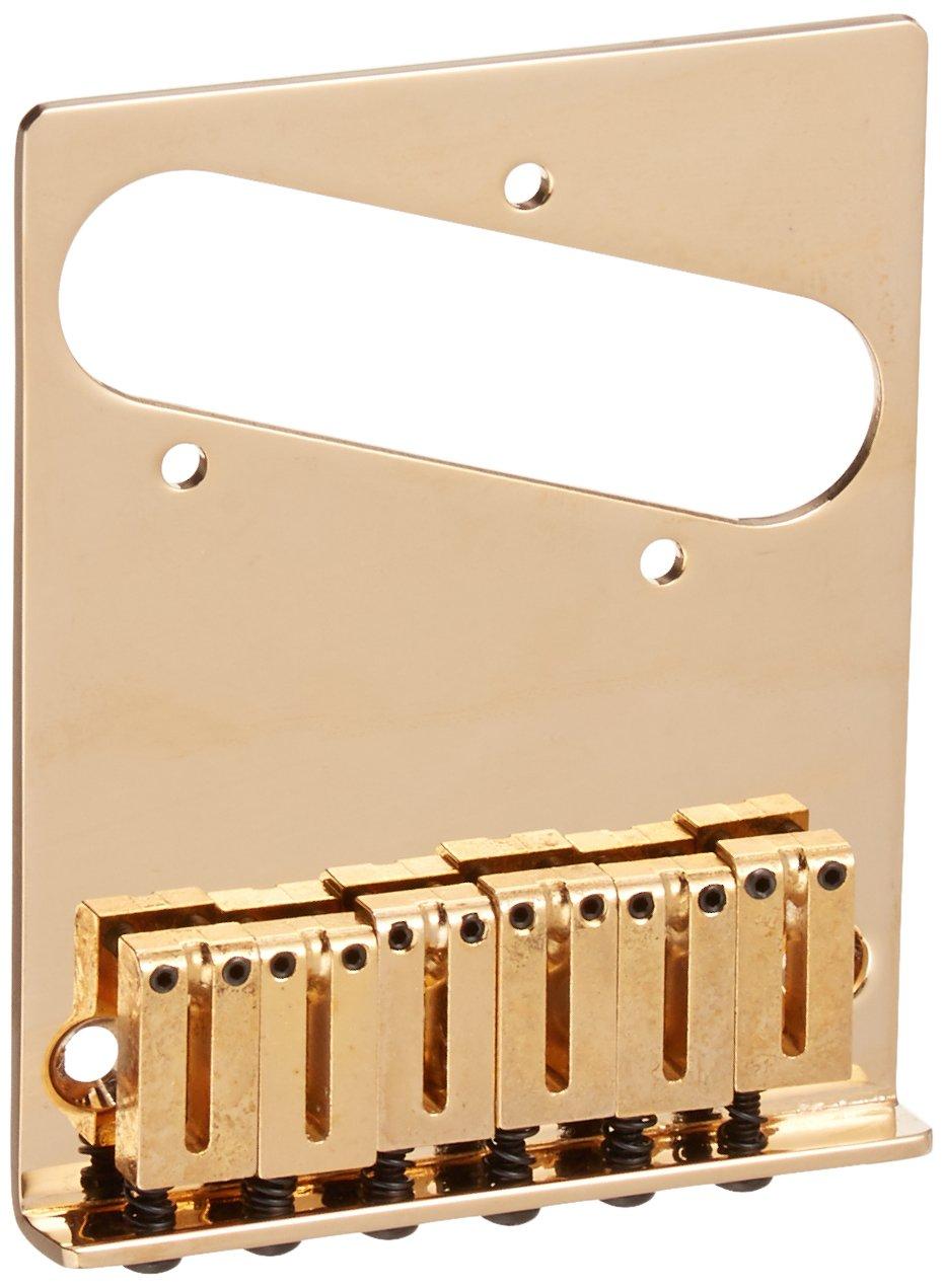 Fender American Series Modern Telecaster Electric Guitar Bridge - Gold