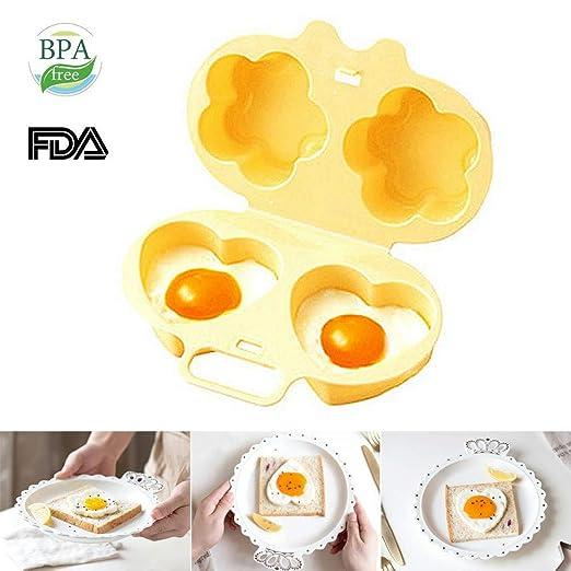 Horno de huevos para microondas con forma de huevo, para cocinar ...