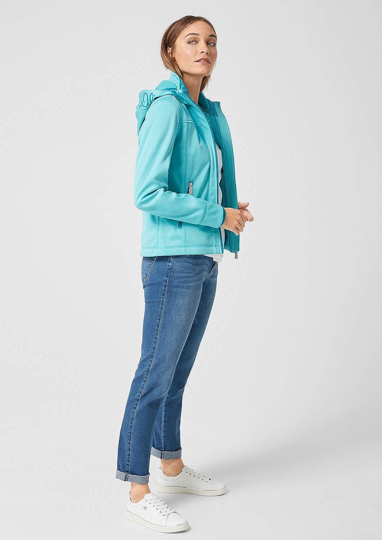s.Oliver Women's Jacket Blue (Aqua 6225)
