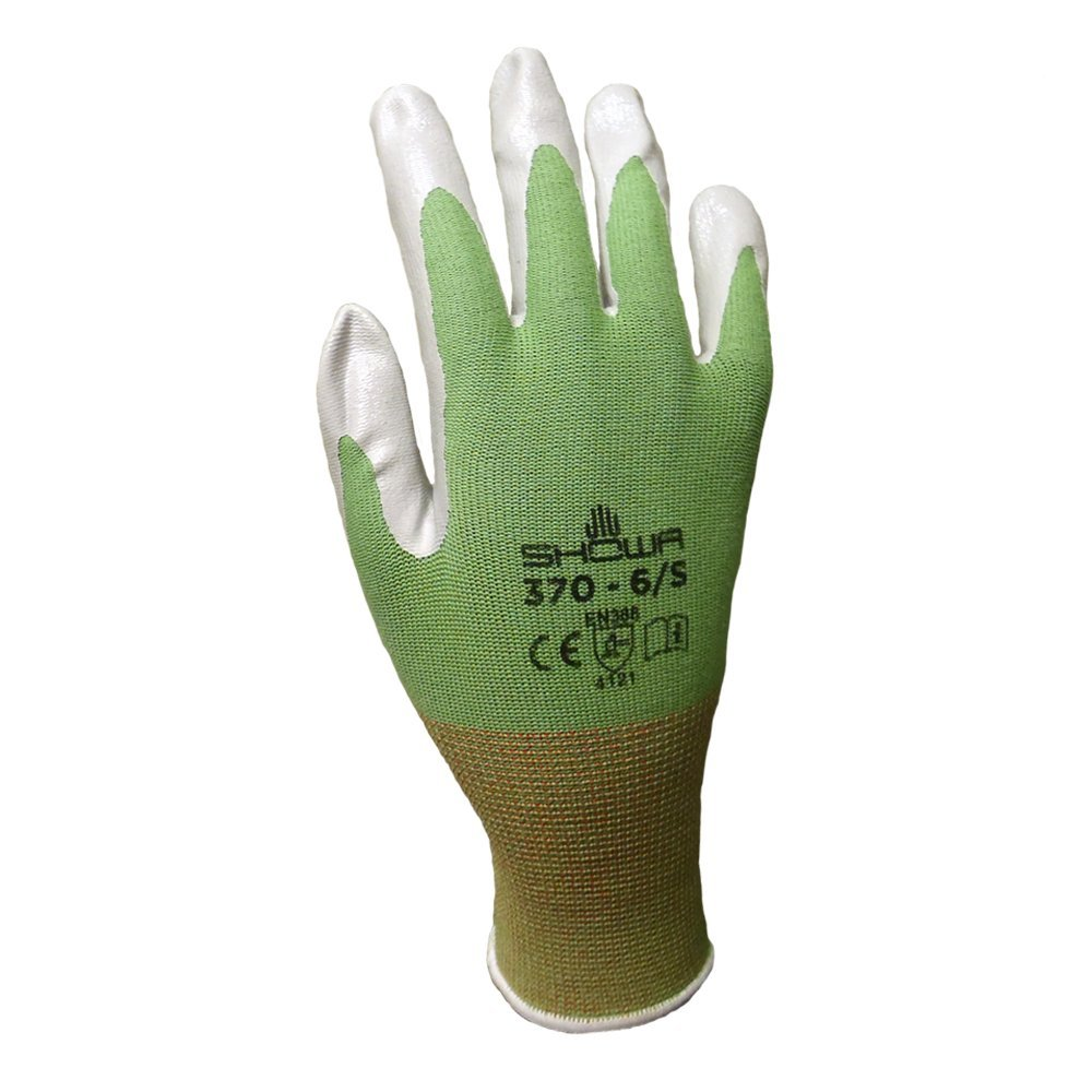 6 Pack Showa Atlas NT370 Atlas Nitrile Garden Gloves - Medium (Assorted Colors) by Showa (Image #3)