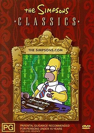 Amazon Com The Simpsons Classics The Simpsons Com Dvd Movies Tv