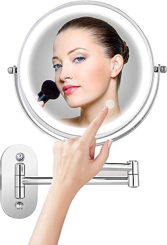 Himimi 7X Wall Mounted Makeup Mirror