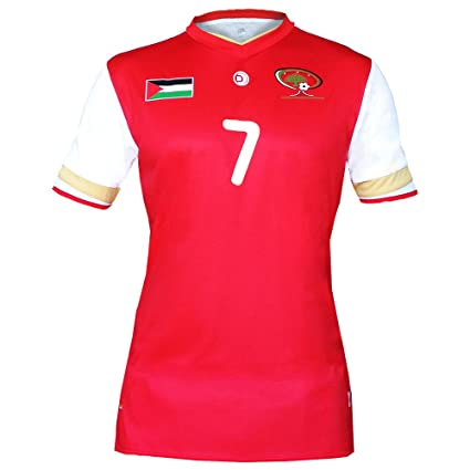 38bdd78322e Amazon.com   2015 Palestine Football Jersey (X-Large)   Sports ...